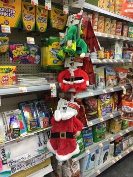 Santa-Kostüm für den Hund